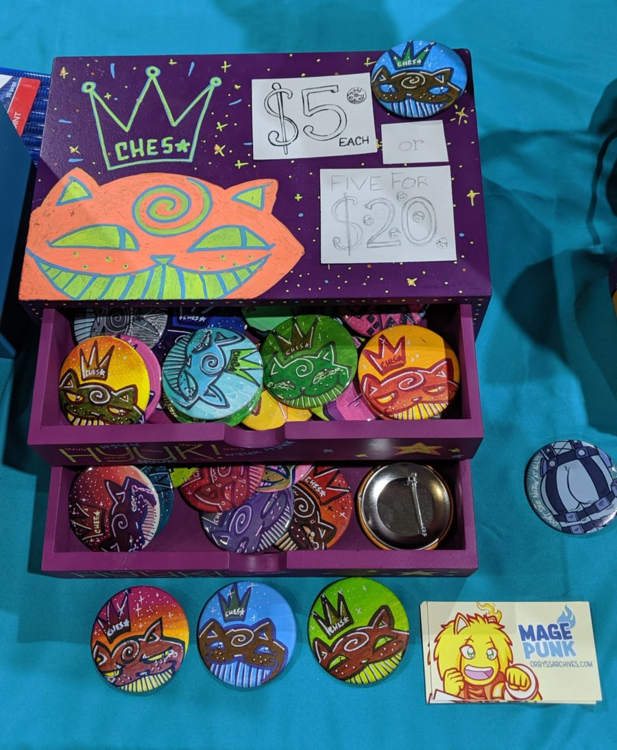 Ches★Shoppe chester drawer looking good at Otakufest 2019!