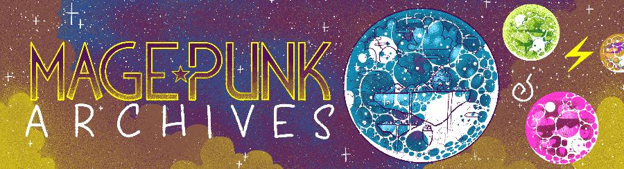 Interstellar Mage Punk Banner