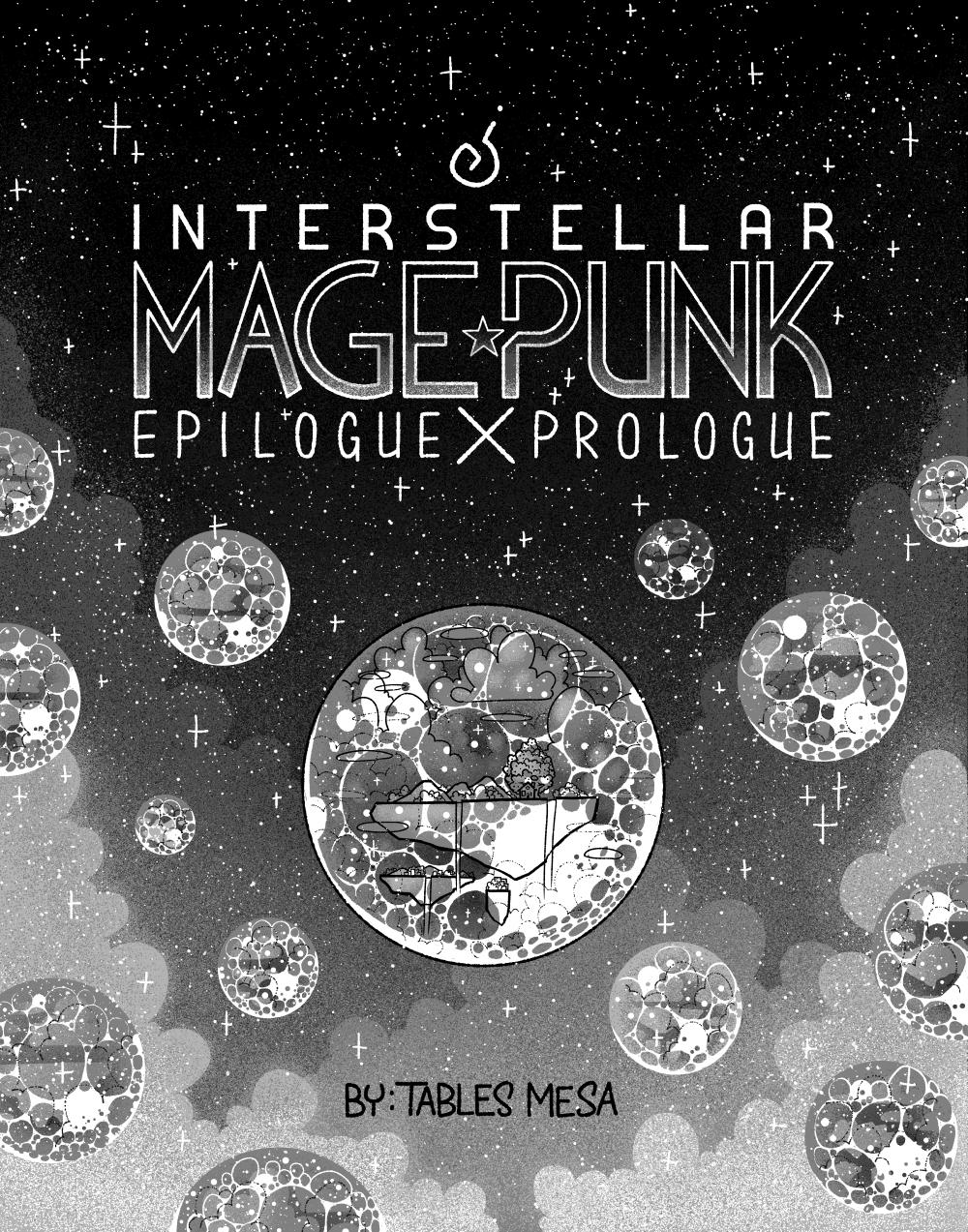 Interstellar Mage Punk: Epilogue X Prologue – Cover