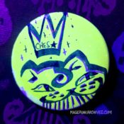 Lucky Green Ches FieStar Button Night