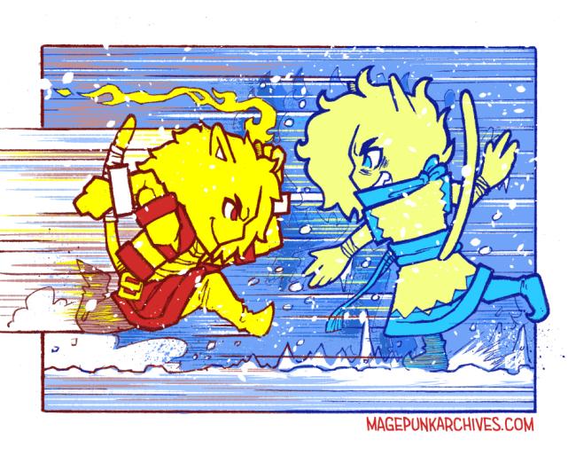 Jake and Artemis Clash!
