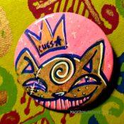 Pink Yakuza Ches Button Day
