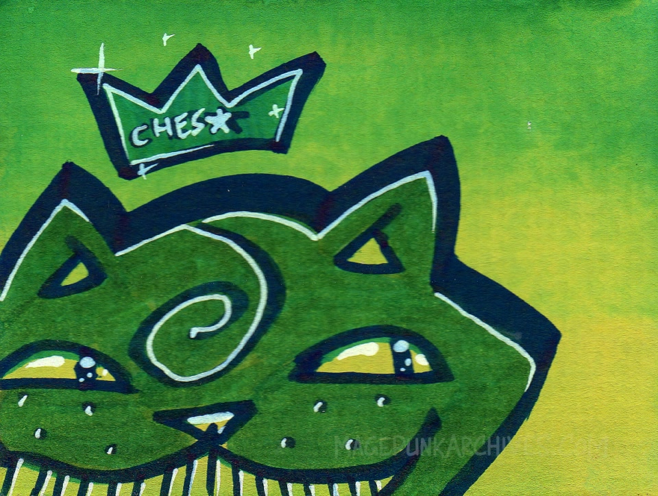 Post ChesStar Dark Green vs Green2Yellow