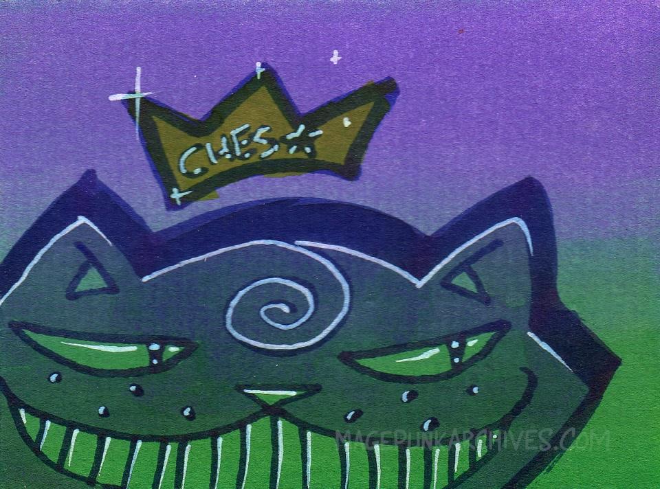 Post ChesStar Slate – Dark Green vs Violet Green