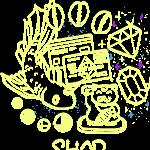 shop-on-blue