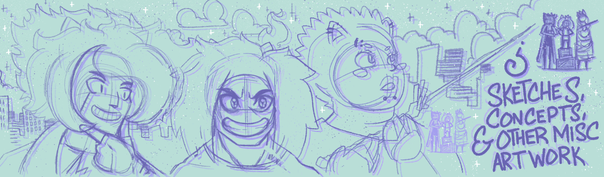 Sketches and Concepts Gallery Banner